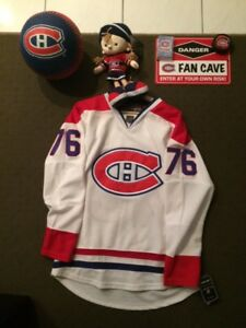 Montreal Canadiens P.K Subban New with Tags jersey package