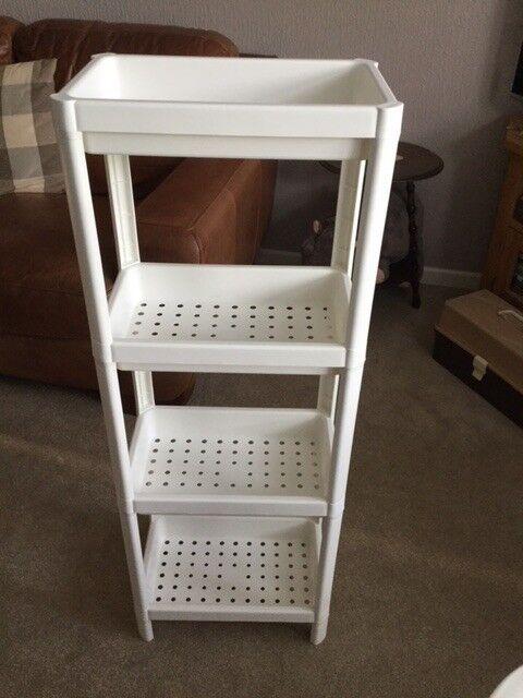 Ikea Vesken Freestanding Bathroom Open Shelf Unit In Exmouth Devon Gumtree