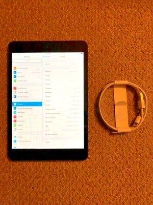 Apple iPad mini 1st Gen. 64GB, Wi-Fi + Cellular, LTE/GSM Black