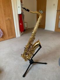 Yamaha tenor saxophone (YTS 275, No. 86584)