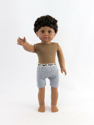 Isaac Boy Doll, Undressed 18'' doll  by American Fashion World New