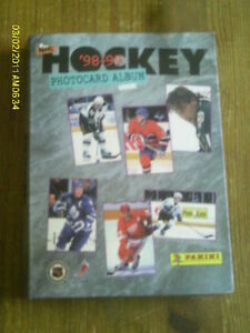 HOCKEY PHOTOCARD ALBUM 98-99