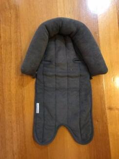 Baby head support for stroller/pram