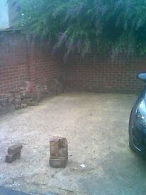 Open parking space in Leytonstone