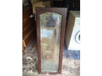 Wood double glazed windows x 4, free , buyer collects