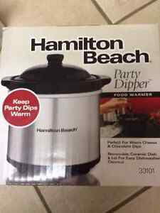 Hamilton Beach  Party Dipper  New in Box   Sealed