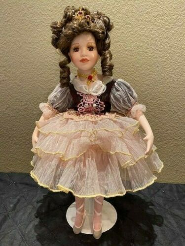 "Vintage 17"" Tuss Ballerina Doll Ballet Slippers Looks New 1980"