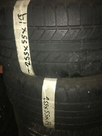 255/55/19 quality tyres
