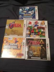 Nintnedo 3DS Games LOT POKEMON ZELDA MARIO
