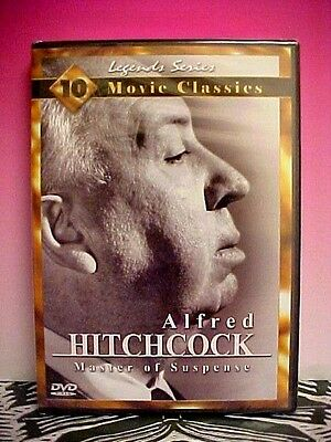 LEGEND SERIES DVD Alfred Hitchcock Master of Suspense 10 classic movies - Halloween Movie Series Box Set