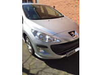 Peugeot 308 1.6HDi Only £30 tax per year.