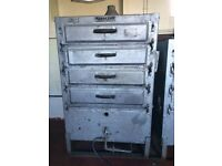 Portway original gas oven 4 Deck