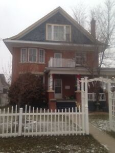 Beautiful 2 bedroom suite in old character home.