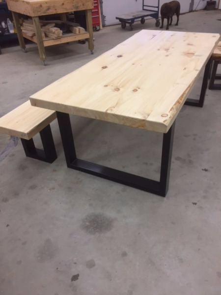 Table bois kijiji montreal for Meuble accent victoriaville