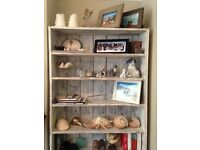Lovely shabby chic bookcase in reclaimed wood