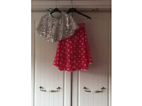 2 skirts for Halloween or stage show