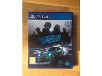 NEED FOR SPEED SONY PLAYSTATION 4 PS4