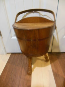 wood- bucket stand, mail box, boot jack London Ontario image 7