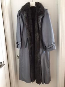 Manteau hiver avec fourrure