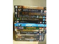 DVD, Good condition, like new no scuffs, scratches, 1.00 pounds each