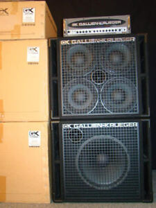 NEW Gallien-Krueger - 2001RB 1080-Watt Compact Bass Head