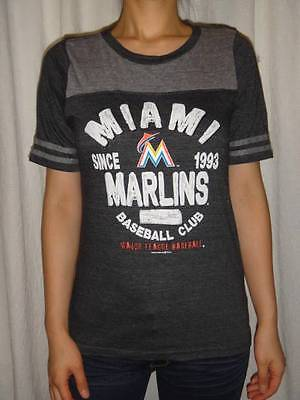 Miami Marlin Tee (NWT Miami Marlins MLB Womens Tee T-Shirt S, M, L, XL )