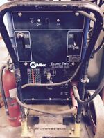 Used Miller Econo Twin HF Arc Welder Constant Currant AC/DC ARC