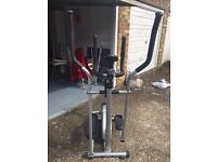Pro Fitness 2 in 1 Cycle/Cross Trainer