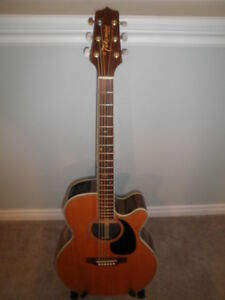 Takamine Acoustic-Electric Guitar.