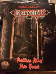 Dungeons & Dragons, D&D, AD&D, Ravenloff modules and manuals