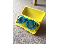 Teal Snapchat Spectacles