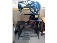 Singer 29k 58. Boot patcher industrial leather canvas sewing machine beautiful condition 1942