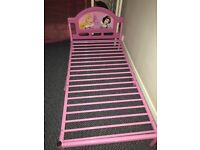 Princess pink single bed