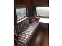 Retro Vintage Eriba 1992 2 berth with Solar panel, awning and quality fitted cover