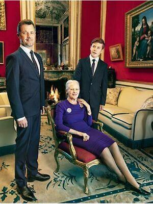 Königin Margrethe von Dänemark Postkarte