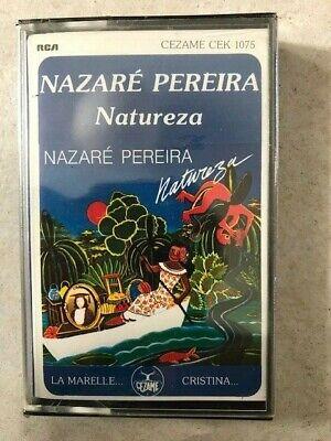 NAZARE PEREIRA NATUREZA K7 sous blister sealed rare c19, usado comprar usado  Enviando para Brazil