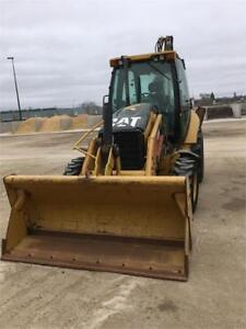 Cat 430E Loader 4wd with extendable backhoe