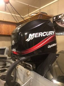 Mercury 115 Optimax  Extra Clean only 222 Hours