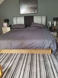 Super King Water Bed with Headboard