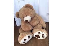 Large over sized soft teddy bear