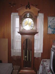 Walnut Grandfather Clock $450  !!Great New Price $300!!!