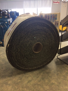 "8"" x 50m Roll of 16 Grit Sand Paper"