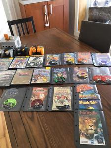Game cube, jeux et manettes