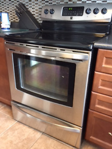 Stainless stove/convection oven