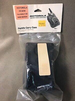 Motorola Paddle Carry Case For Radio - Policefireems - Nos