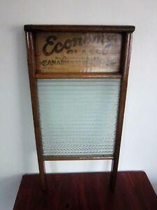 Très Belle Planche à Laver Economy Glass Antique