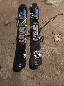 Ski Blade Mini Ski Skiboards