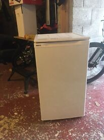 Undercounter Fridge. BEKO LC120, very good condition and working order. 85cm (H)x 49cm (W).
