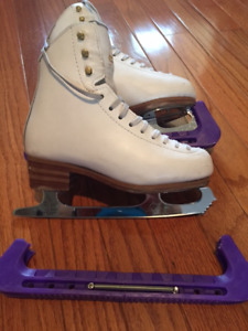 Used Jackson Freestyle Skates (sz 2) with Coronation ACE blade