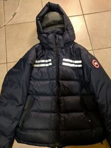 Canada Goose Men's Summit Jacket (LARGE-Navy)